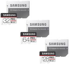 Samsung 32GB 64GB 128GB Pro Endurance Micro SD 100MB/s MicroSDHC Memory Card Lot