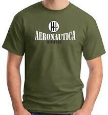 T-Shirt Military A124 Regia Aeronautica Militare coccarda alare dal 1935 al 1943
