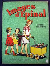 Vintage Imagerie Pellerin Images d'Epinal Histoires Pour Fillettes Inv1546