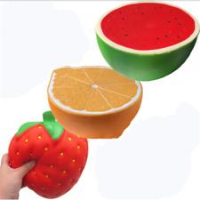 Jumbo Squishy Squeeze Watermelon Orange Strawberry Squishies Toy Stress Relief