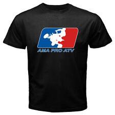 New AMA PRO ATV Racing Logo Men's Black T-Shirt S M L XL 2XL 3XL