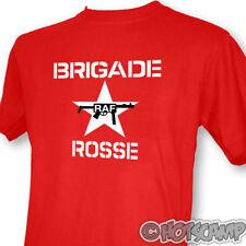 Brigade Rosse Mens Red T-Shirt The Clash Joe Strummer !