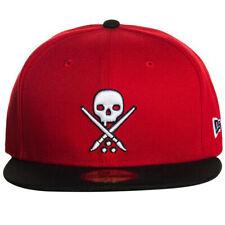Sullen Art Collective Clothing New Era Fitted Cap Kappe Mütze Eternal Skull Rot