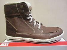 Rieker Botas de cordón, marrón, Forro Cálido, NUEVO