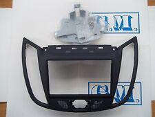 Mascherina autoradio monitor kit Doppio 2 Din SOLA Ford C-Max 2011 in poi GRIGIA
