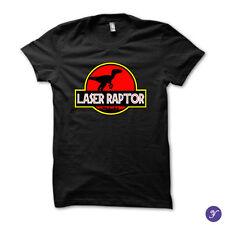 Laser Raptor tshirt - Kung Fury, Funny, 80s, Parody, Hackerman, Retro