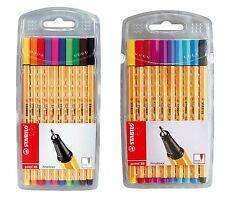 Stabilo Fineliner point 88 Etui mit 10 Stiften 2 Varianten wählbar 0,4 mm