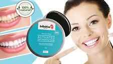 Infinitivo belleza natural polvo de carbón activado Dientes Blanqueamiento Pasta de dientes