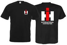 Oldtimer T-Shirt | IHC International Harvester | Brust- und Rückendruck 370-0-BR