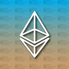 "Ethereum Sacred Geometry Cryptocurrency Ether Blockchain 5"" Custom Vinyl Decal"