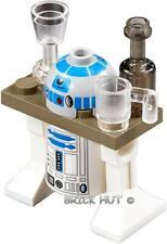 LEGO STAR WARS R2-D2 W/ DARK TAN SERVING TRAY FIGURE + GIFT - 75020 - 2013 - NEW