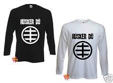 HUSKER DU punk rock indie LONGSLEEVE T shirt S-XXL