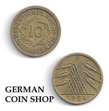 Germany 10 Rentenpfennig 1923-1924 A D E F G J - bitte auswählen/please select