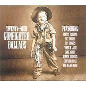 Twenty Four Gunfighter Ballads, Various Artists, Very Good CD