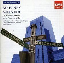 FREDERICA VON STADE (MEZZO-SOPRANO VOCALS) - MY FUNNY VALENTINE: FREDERICA VON S