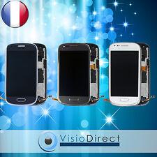 Ecran vitre complet pour Samsung Galaxy S3 mini i8190 blanc,bleu ou gris