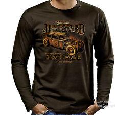 Camiseta T-Shirt Vintage Hot Rod Rockabilly Kustom Auto 1275 BR LS