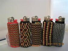 Hand Beaded Original Design Lighter Cases...Black & Golds & more Collection