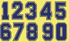 Feltro Barcellona Calcio shirt calcio i numeri di calore stampa football vintage a 1980s