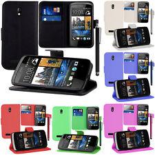 FUNDA PROTECTORA PARA HTC Desire 500 / Dual SIM Móvil Cartera Funda con tapa