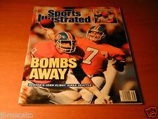 1987 DENVER BRONCOS JOHN ELWAY Sports Illustrated