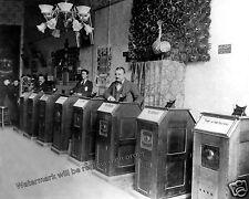 Photograph Thomas Edison Kinetoscope Gramophone Arcade -  Year 1895   8x10