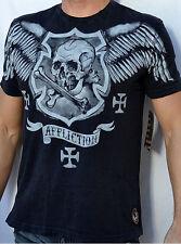 Affliction American Customs MISGIVEN - Men's T-Shirt - A4744 - NEW - Black