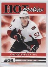 2011-12 Score #523 Colin Greening Ottawa Senators RC Rookie Hockey Card
