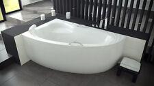 Offset Corner Bath *NATALY* SPACE SAVER 1500 x 1000mm FULL SET