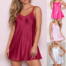 Women Babydoll Dress Lingerie Nightwear Sleepskirt G-String Underwear Oversize