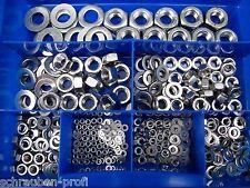 900 PEZZI ACCIAIO INOX DADI RONDELLE Starter Set V2A SCATOLA VA M2- M10