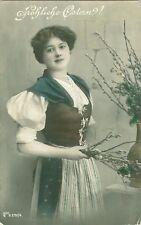 Pasqua, DAMA, Foto AK per 1910/20