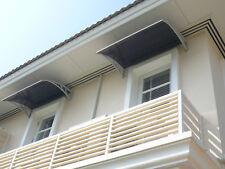 Überdachung Haustür Glasvordach Kunststoff Vordach Haustürvordach D-Serie-120cm