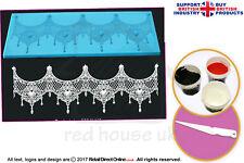 Edible Cake Lace Starter Kit | Designer Tiffany Cake and Cupcake Lace Mat