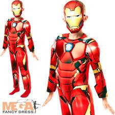 Infinity War Deluxe Iron Man Boys Fancy Dress Superhero Avengers Childs Costume