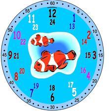 Kinder Lernuhr Einschulung Ente Esel Ziege Kosmonaut Fuchs Clown Fisch Pinguin u