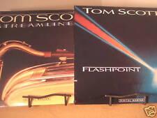 TOM SCOTT FLASHPOINT & STREAMLINES SEALED RARE ORIGINAL GRP LABEL 2 LP SET PROMO