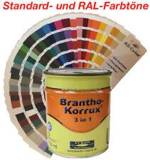Brantho Korrux 3in1 Rostschutzfarbe Grundierung Metallschutz - auch RAL 750 ml