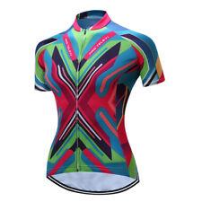 Cycling Clothing Women's Cycling Jersey Sportswear Bike Bicycle Short Sleeve Top