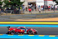 Ferrari 488 GTE no51 24 Hours of Le Mans 2017 photograph picture poster print