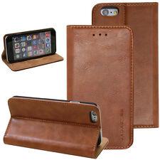 Lujo Funda para Samsung o Apple Smartphone Móvil Funda protectora marrón