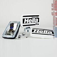 Hella Fernscheinwerfer Set Comet 550 12V 55W H3 Zusatzscheinwerfer + Kappen