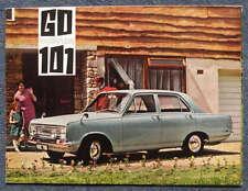 VAUXHALL VICTOR 101 Car Sales Brochure 1967 #V1712/10/66 Standard SUPER De Luxe