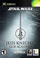 Star Wars: Jedi Knight -- Jedi Academy (Microsoft Xbox, 2003)complete black labe