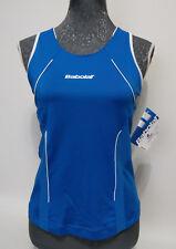 SUPERSALE: Babolat Club Damen Funktions-Tank (mit Bra) blau, stark reduziert