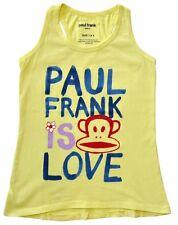 PAUL FRANK Top Tanktop gelb Affe Julius 98 104 110 116 122 128 134 140  NEU