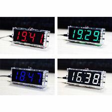 Decor Timekeeping Electronic DIY Kit 51 Single Chip Digital Clock LED Display
