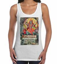Kali Hindu Goddess Large Print Women's Tank Vest Top