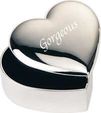 Magnifique Valentine Boîte à Bijoux Boite Cadeau Coeur