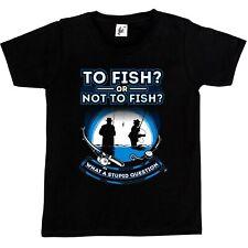Per i pesci o meno ai pesci che domanda stupida Bambini Ragazzi/Ragazze T-shirt